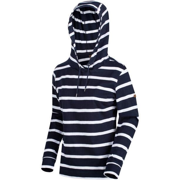Regatta Magdelina Hoodie Damen navy/white stripe