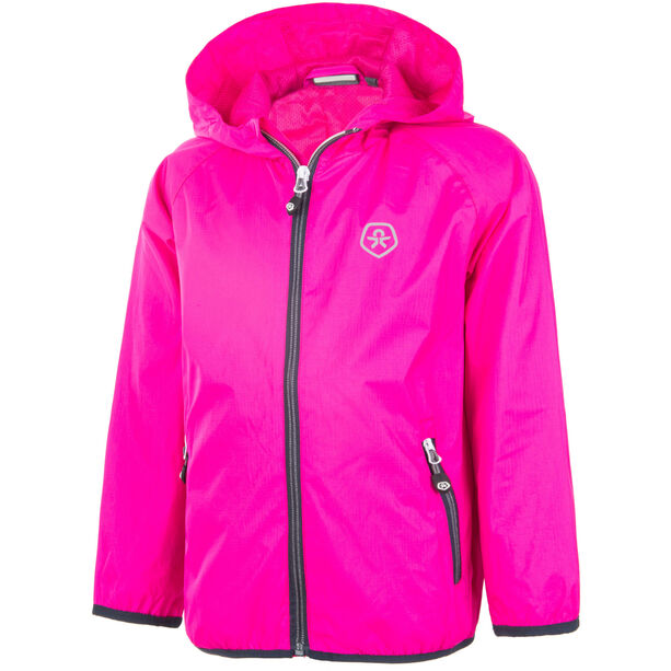 Color Kids Villom Jacket Kinder pink glo