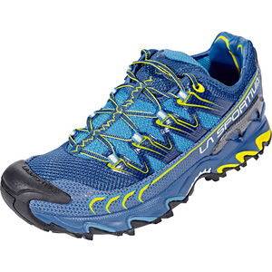 La Sportiva Ultra Raptor Running Shoes Herren blue/sulphur blue/sulphur