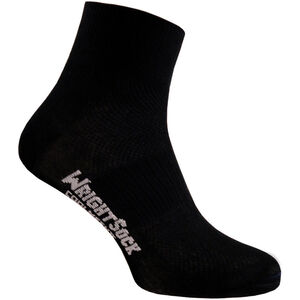 Wrightsock Coolmesh II Quarter Socks black black