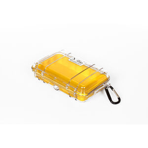 Peli MicroCase 1040 klar-gelb klar-gelb