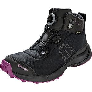 Icebug Detour RB9X GTX Shoes Damen black/dkmagenta black/dkmagenta