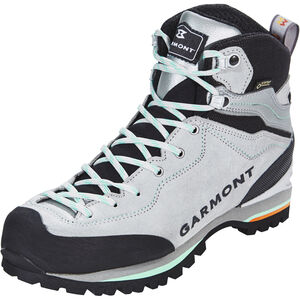 Garmont Ascent GTX Shoes Damen light grey/light green light grey/light green