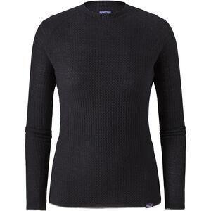 Patagonia Capilene Air Langarm Crew Shirt Damen black black