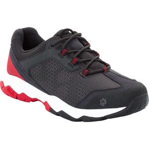 Jack Wolfskin Rock Hunter Low Shoes Herren ruby red ruby red