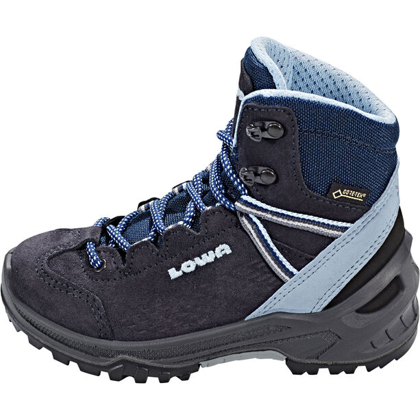Lowa Ledro GTX Mid Shoes Kinder navy/light blue