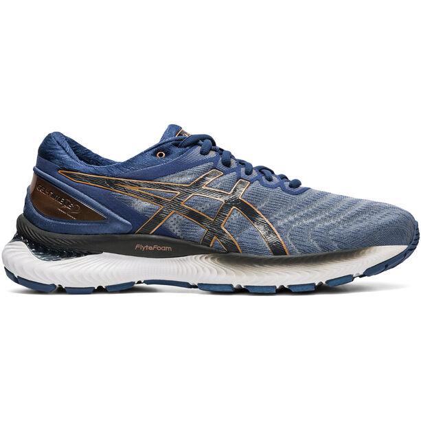 asics Gel-Nimbus 22 Shoes Men sheet rock/graphite grey