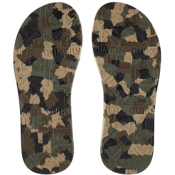 Quiksilver Island Oasis Sandals Herren black/green/green