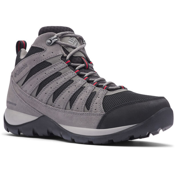 Columbia Redmond V2 Mid-Cut Schuhe Waterproof Herren black/rocket