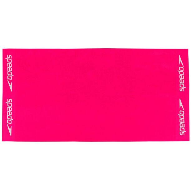 speedo Leisure Towel 100x180cm rasperry fill