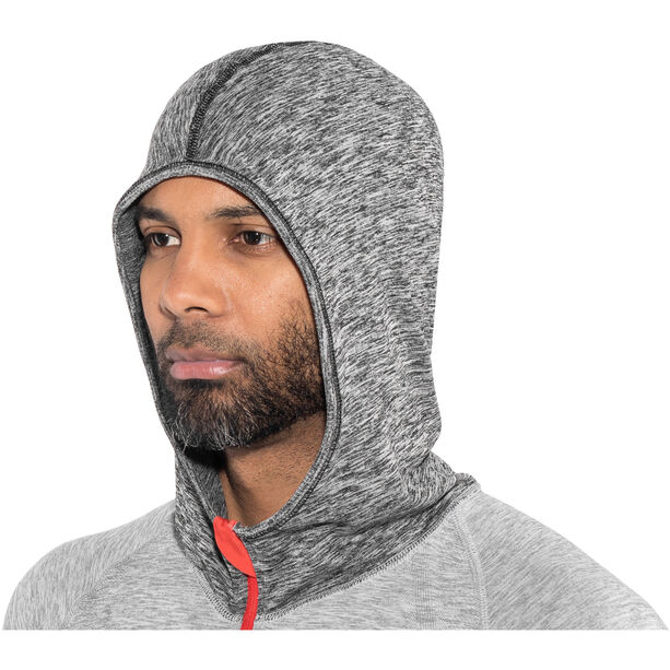 Compressport 3D Thermo Seamless Hoodie grey