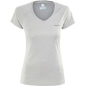 Columbia Zero Rules Shortsleeve Shirt Damen columbia grey heather columbia grey heather