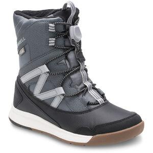 Merrell Snow Crush WP Stiefel Jungs grey/black grey/black