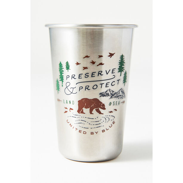 United By Blue Treeline Stainless Steel Tumbler 473ml stainless steel