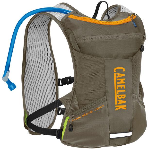 CamelBak Chase Bike Hydration Vest 1,5l shadow grey/iceland poppy