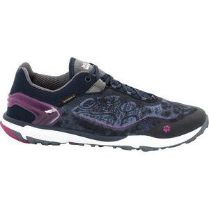 Jack Wolfskin Crosstrail Shield 2 Low Shoes Damen fuchsia fuchsia