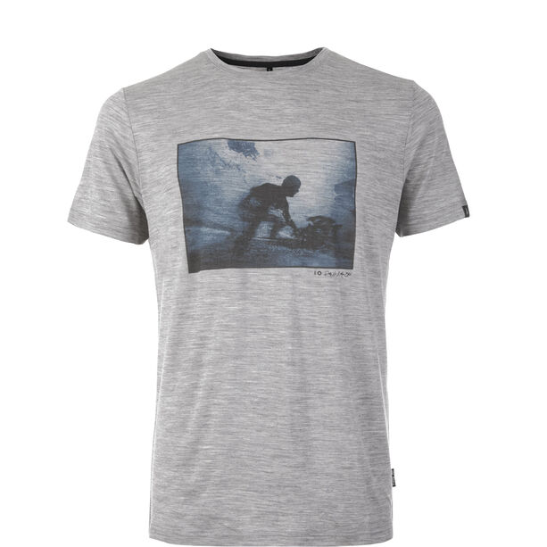 Pally'Hi Shape of Fluid T-Shirt Herren heather grey