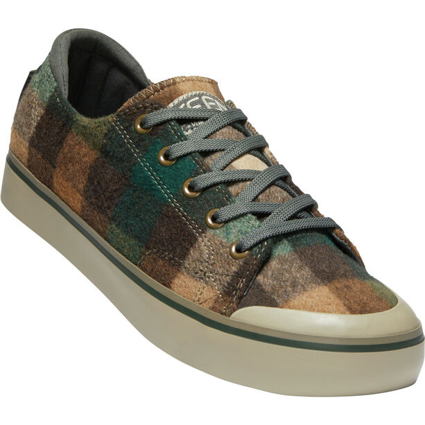 Keen Elsa III Sneaker Damen brown plaid/climbing ivy