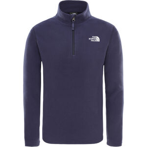 The North Face Glacier 1/4 Zip Kinder montague blue montague blue