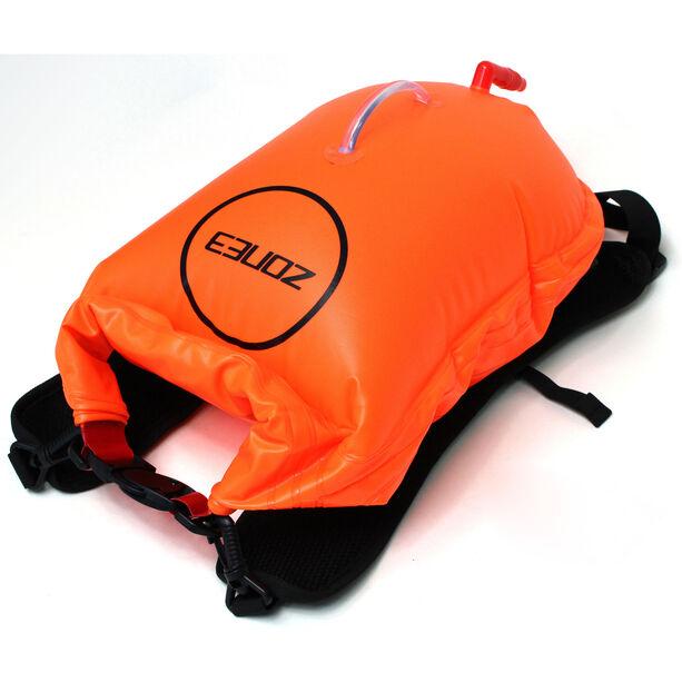 Zone3 Swim Run Dry Bag Buoy 28l orange