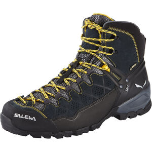 SALEWA Alp Trainer Mid GTX Shoes Herren carbon/ringlo carbon/ringlo