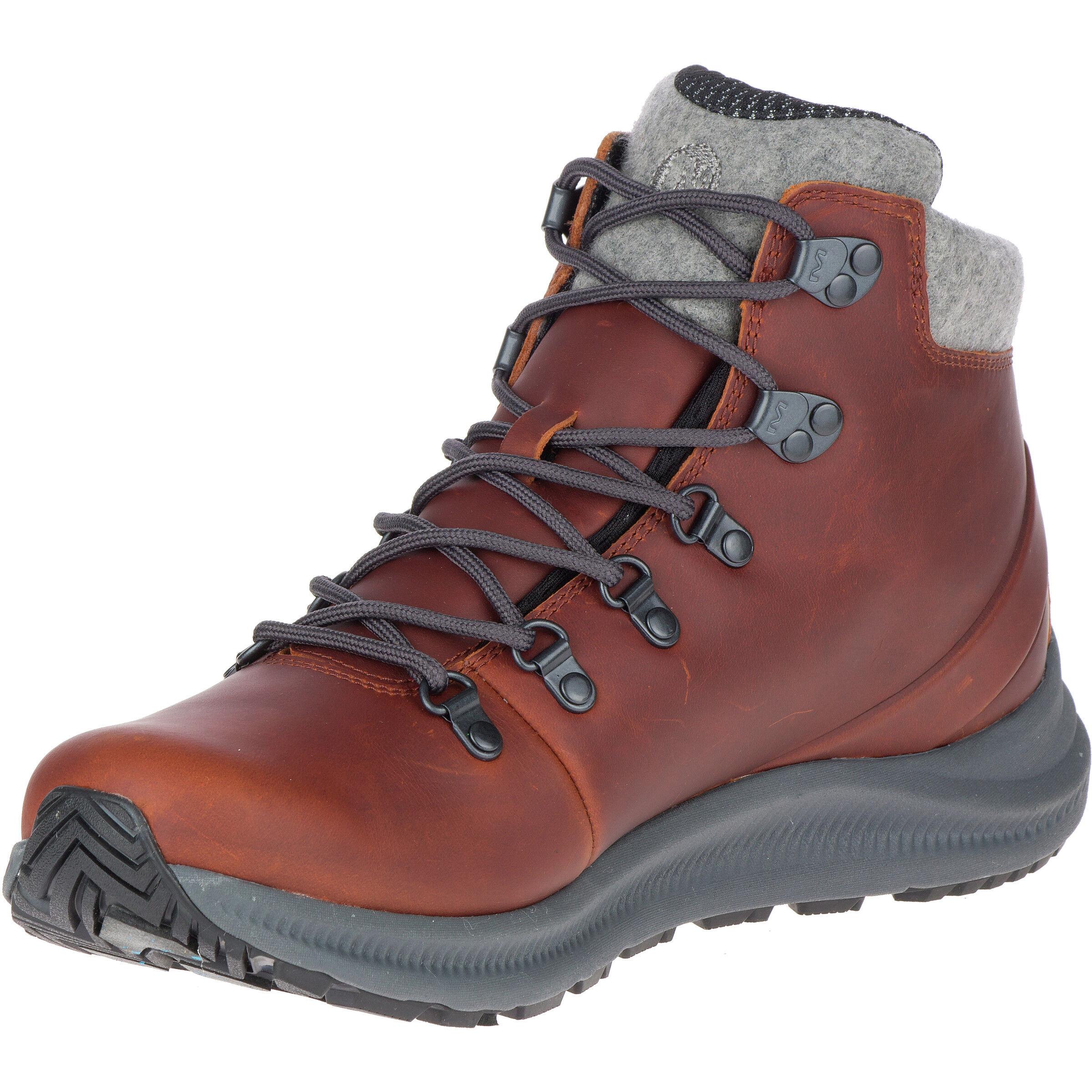 barley Thermo Herren Merrell WP Cut Schuhe Ontario Mid 8kX0nwZNOP