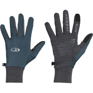 Icebreaker Tech Trainer Hybrid Handschuhe nightfall/jet heather nightfall/jet heather
