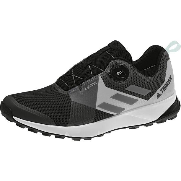 adidas TERREX Two Boa GTX Shoes Damen core black/grey four/ftwr white