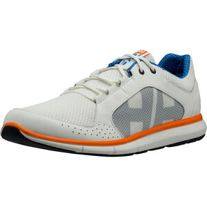 Helly Hansen Ahiga V3 Hydropower Shoes Herren off white/racer blue/blazer orange off white/racer blue/blazer orange