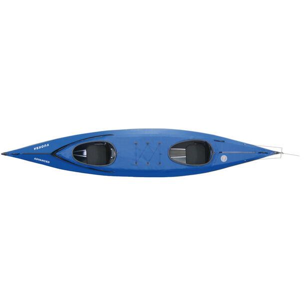 Triton advanced Vuoksa 2 advanced Kajak Komplett-Set blau/schwarz
