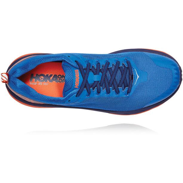 Hoka One One Challenger ATR 5 Schuhe Herren imperial blue/mandarin red