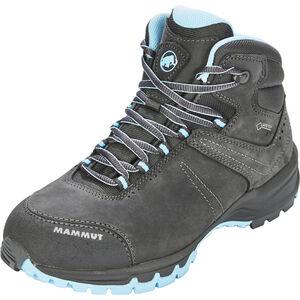 Mammut Nova III Mid GTX Shoes Damen graphite-whisper graphite-whisper