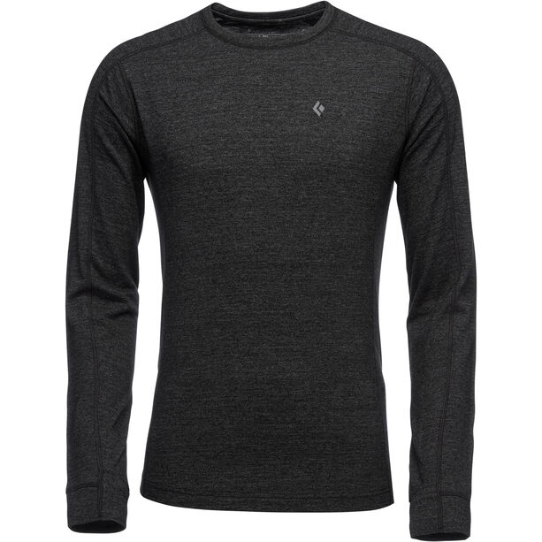 Black Diamond Solution 150 Merino Baselayer Crew Herren black