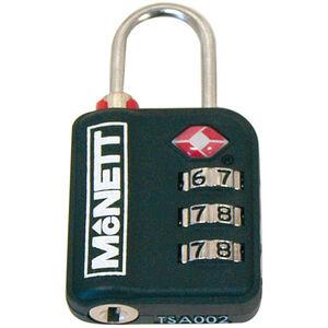 McNett TSA combination lock black black