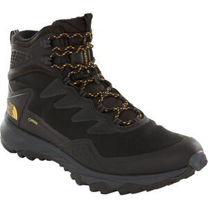 The North Face Ultra Fastpack III Mid GTX Shoes Herren tnf black/amber tnf black/amber