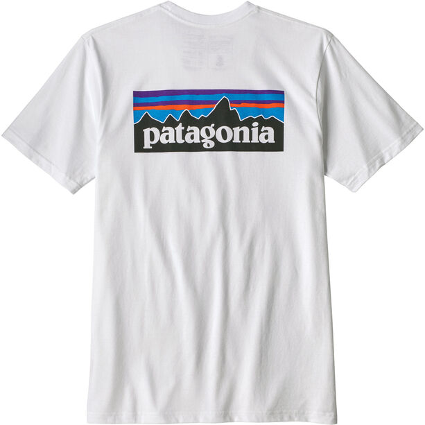 Patagonia P-6 Logo Responsibili-Tee Herren white