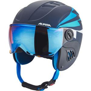 Alpina Carat LE Visor HM Helmet Kinder nightblue-denim matt nightblue-denim matt