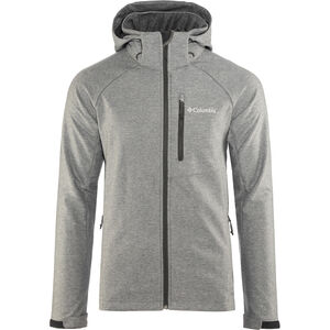 Columbia Cascade Ridge II Softshell Jacket Herren charcoal heather charcoal heather