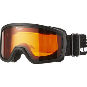 Alpina Scarabeo Doubleflex S2 Goggles Kinder black black