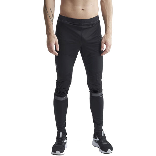 Craft Warm Train Windhose Herren black/transparent grey