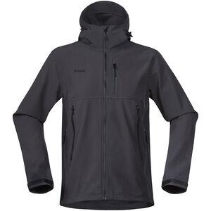 Bergans Stegaros Jacket Herren solid charcoal/black solid charcoal/black