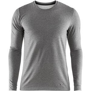 Craft Essential Warm Round-Neck LS Shirt Herren dk grey melange dk grey melange