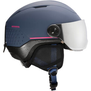 Rossignol Whoopee Impacts Visierhelm Jugend blue/pink blue/pink