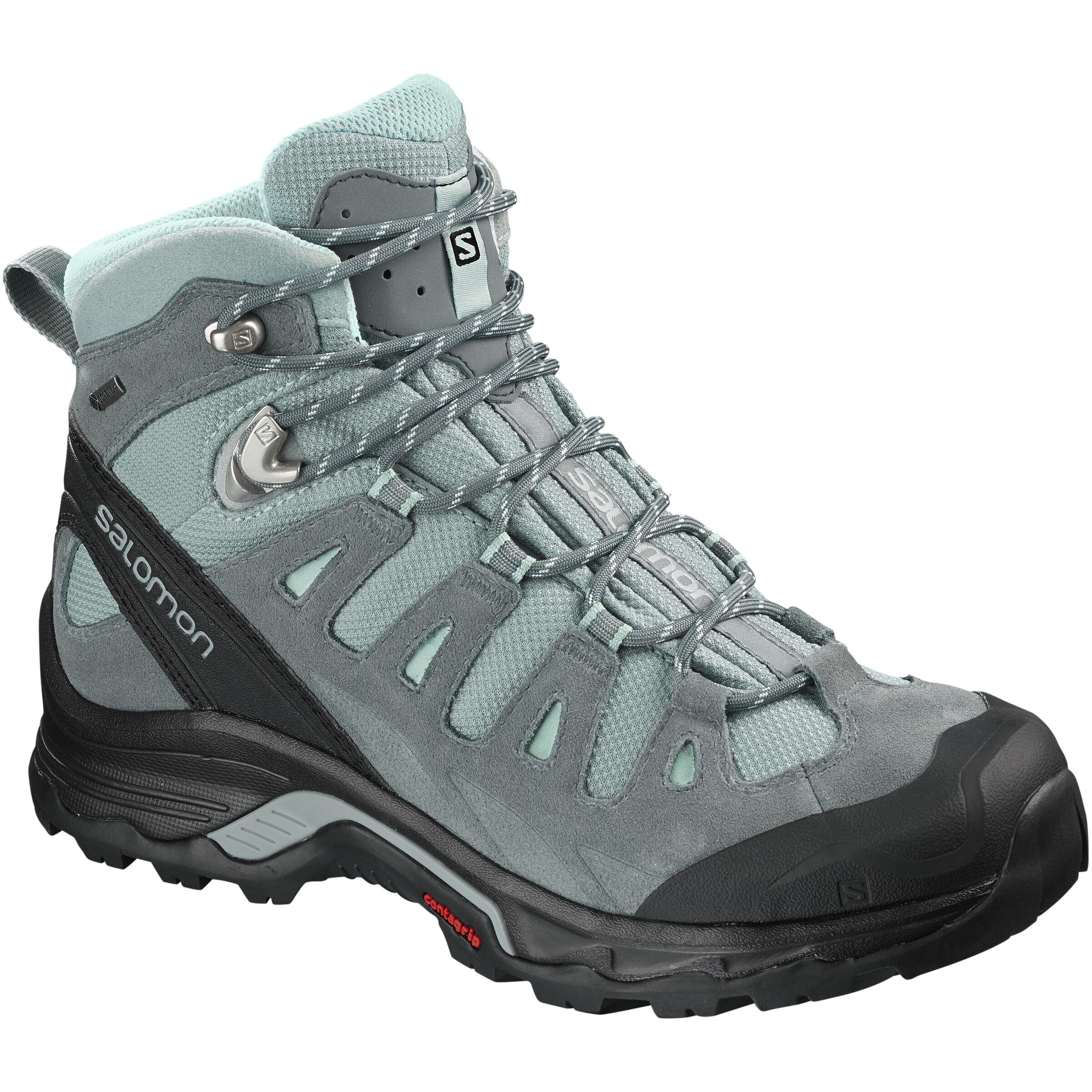 Salomon Authentic LTR GTX Schuhe Damen leadstormy weathereggshell blue