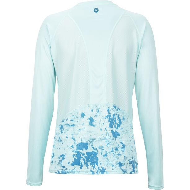 Marmot Crystal LS Shirt Damen blue tint mind game