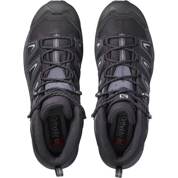 Salomon X Ultra 3 Mid GTX Shoes Herren black/india ink/monument