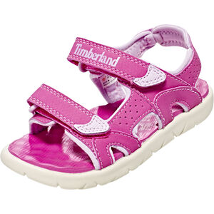 Timberland Perkins Row 2-Strap Sandals Kinder medium pink medium pink