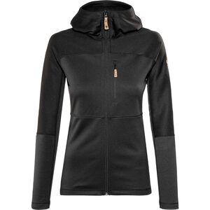 Fjällräven Abisko Trail Fleece Jacket Damen black black