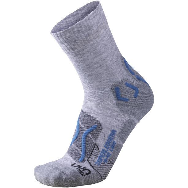 UYN Trekking Superleggera Socks Damen light grey/turquoise