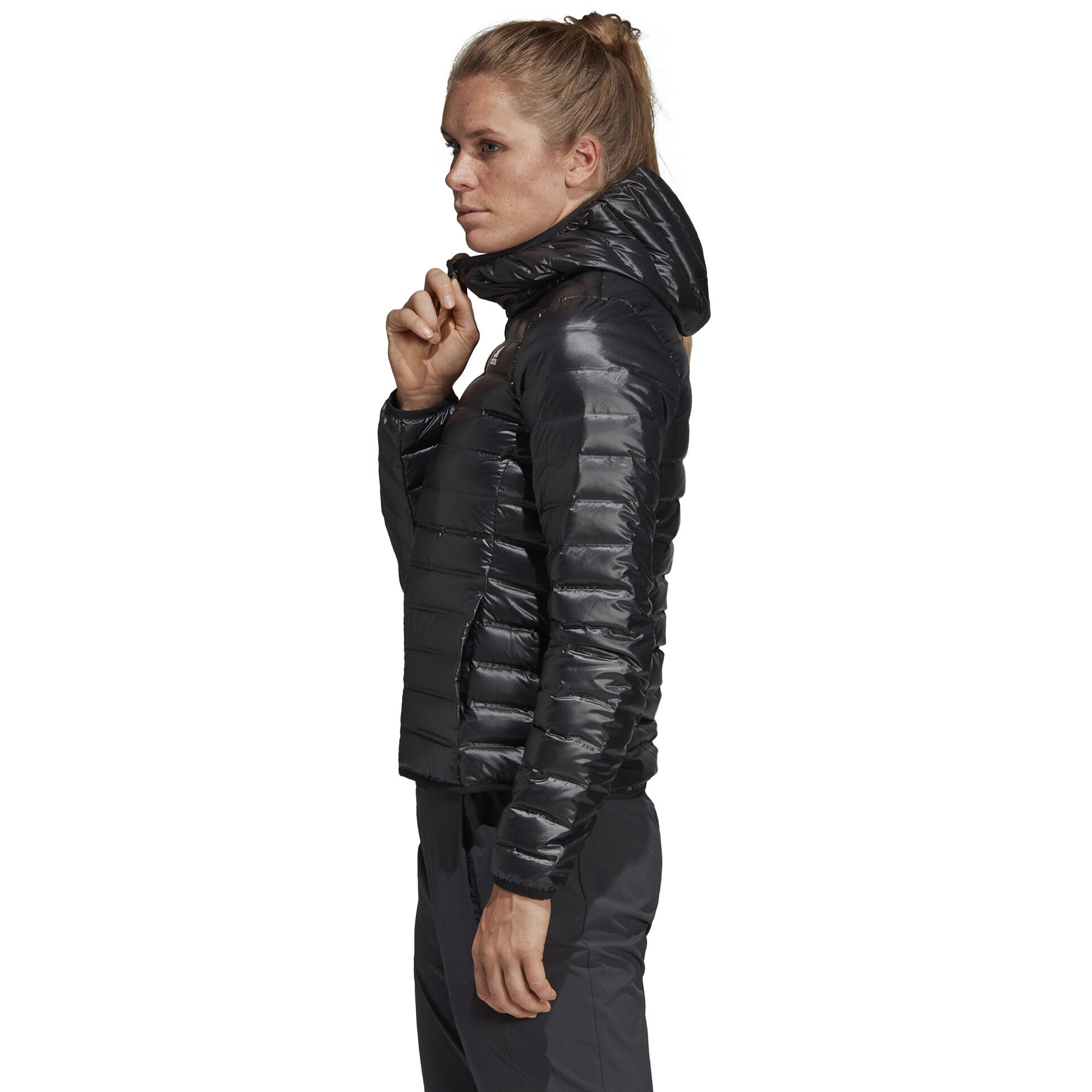 Damen Terrex Daunenjacke Kapuzen Black Varilite Adidas WHe9bEIYD2